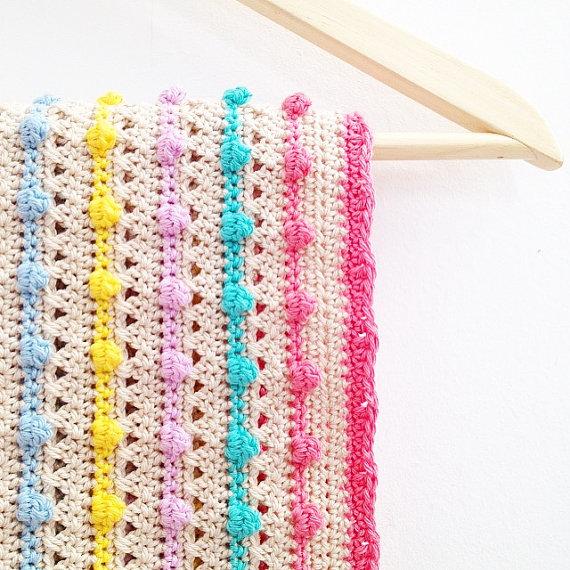 Annemaries Haakblog Giveaway Bobble Stitch Blanket Pattern