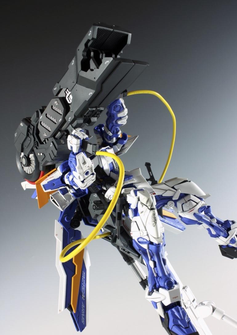 Custom Build: MG 1/100 Gundam Astray Blue Frame Second Revise LOHENGRIN