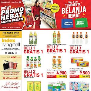 Katalog Promo Carrefour Weekend 19 - 21 Januari 2018