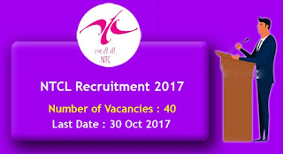 NTCL Clerical Staff & Security Supervisor – 40 Posts