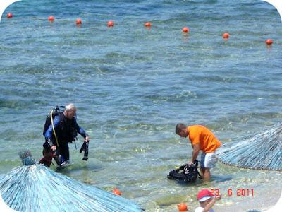 snorkeling si scufundari la Pefkari