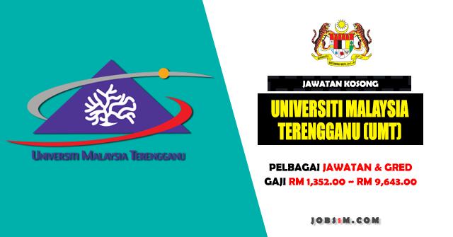 Jawatan Kosong Universiti Malaysia Terengganu (UMT) - KELAYAKAN SPM ~ IJAZAH