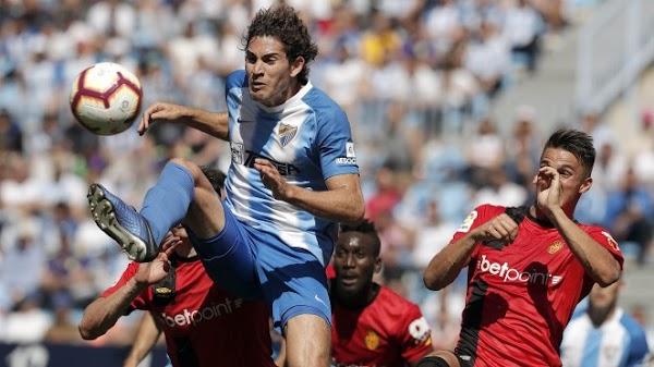 El Málaga cae inmerecidamente contra el Mallorca (0-1)