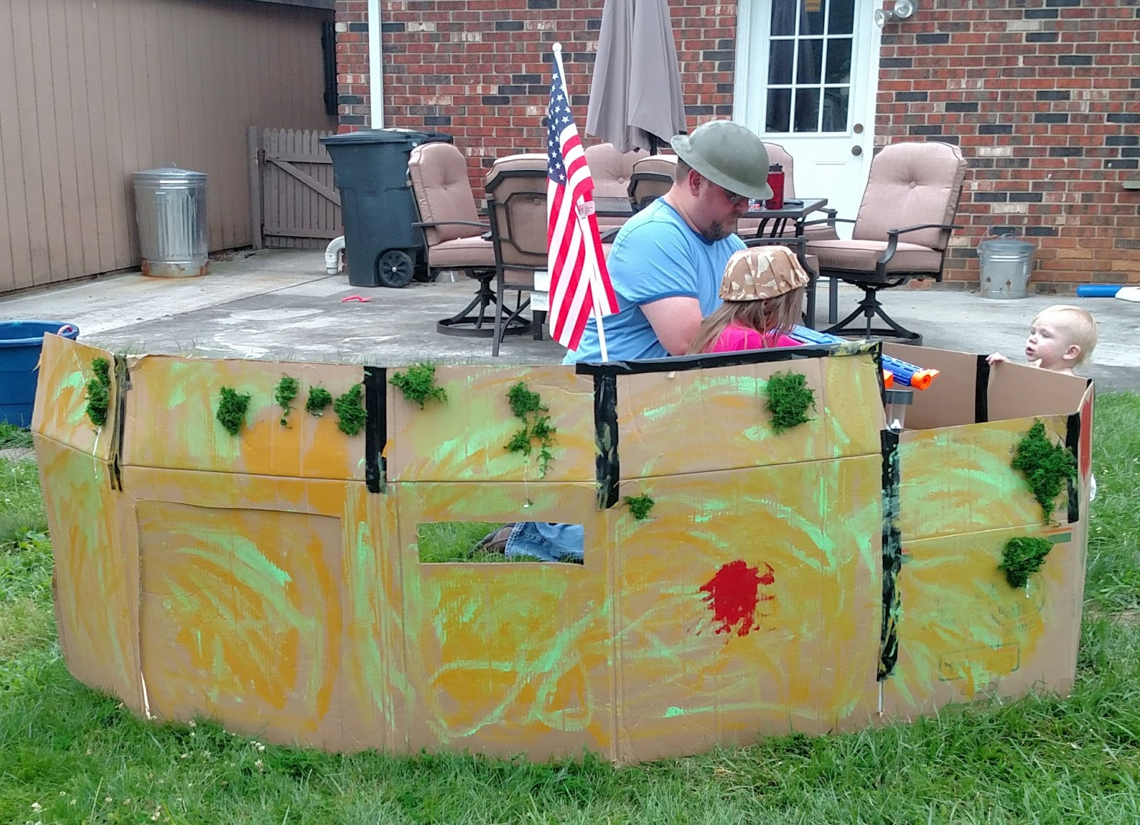 it s this or murder box fort nerf war cheap and easy party fun