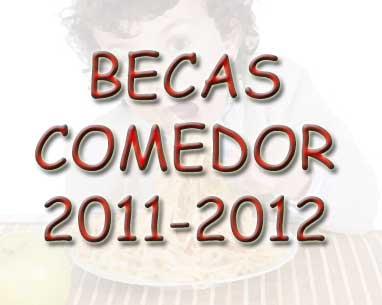 Info sobre becas comedor y libros 2011-2012