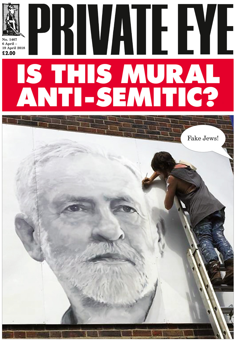 Tony Greenstein Blog: Tony Greenstein's Blog: Is This Mural Anti-Semitic? A