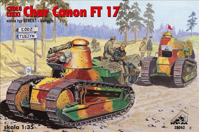 Renault FT 1920  Panzer-Modellbau//Fotos//Bilder//Skizzen//Profiles Tank Power 487