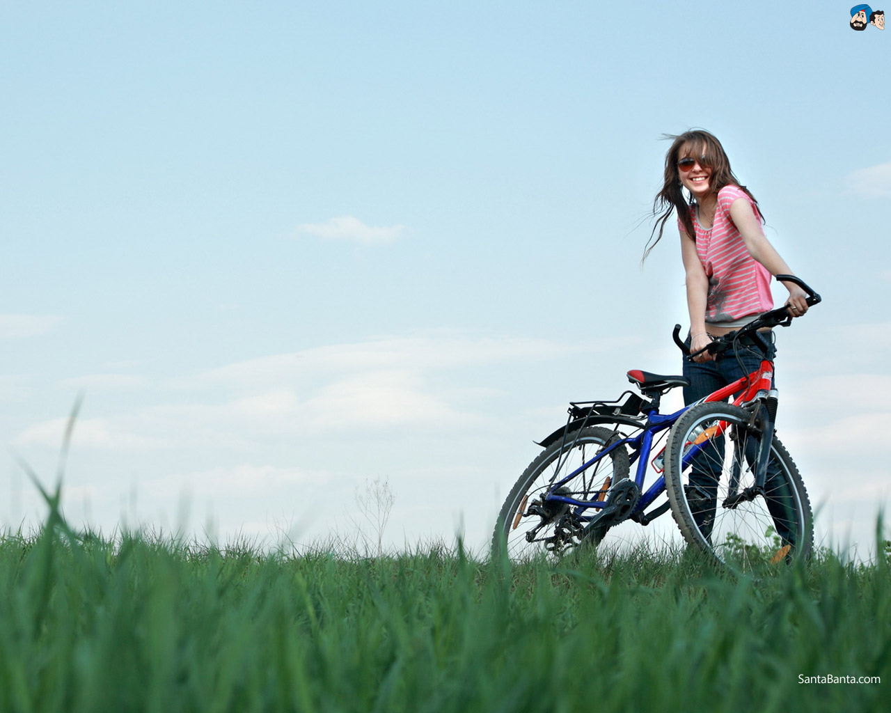 Korean Cute Girl Hd Wallpaper Download Bicycle Wallpapers Hd Most Beautiful Places In