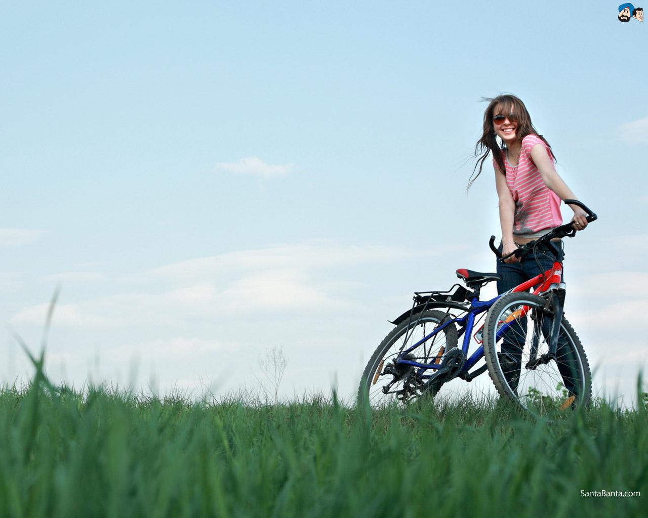 bikes girls wallpapers wallpaper - photo #20
