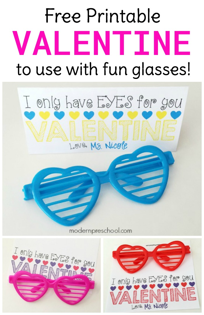 photo relating to Sunglasses Printable referred to as Very simple Sungles Printable Valentine
