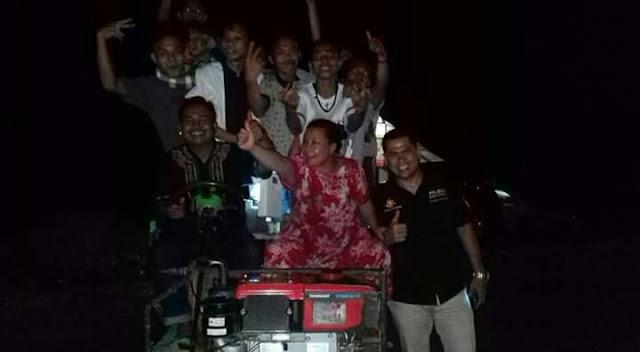 Ada Yang Unik Dari Tradisi Malam Takbiran di Desa Kalotok Lutra