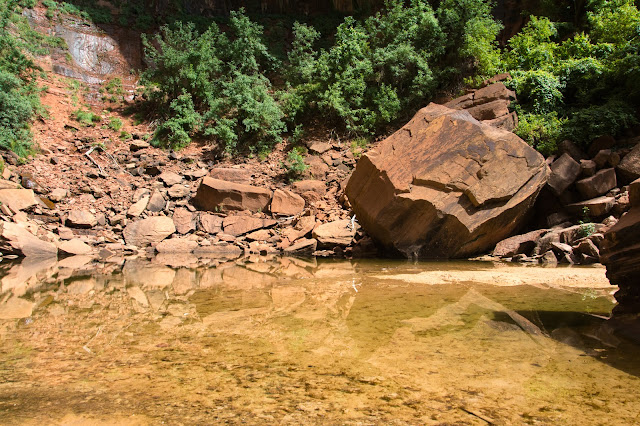 Upper Emerald Pool, Zion National Park