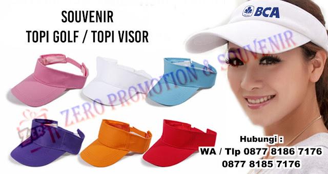 topi visor, topi golf, Topi tennis, topi olahraga, konveksi topi golf, jual topi golf custom