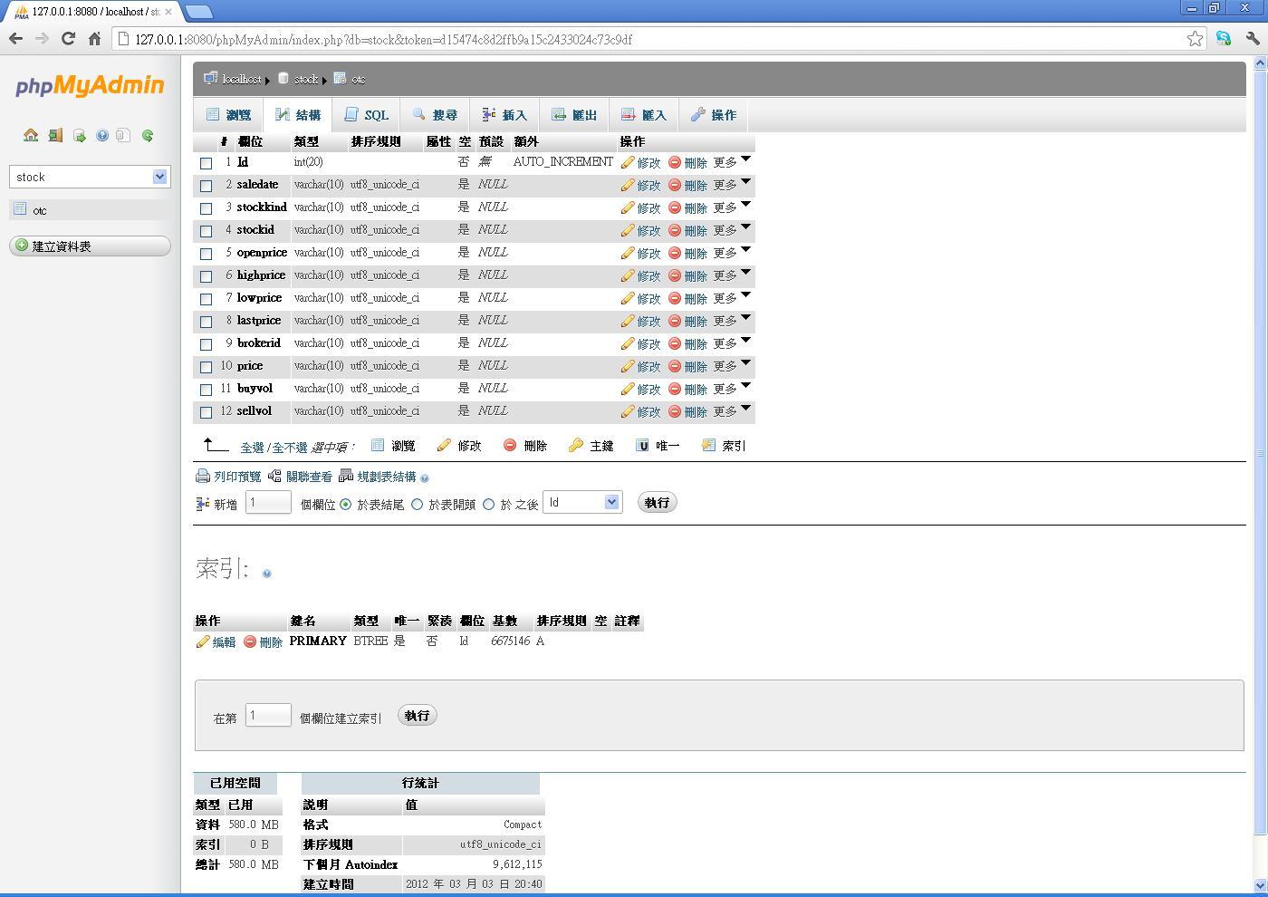 iInfo 資訊交流: Python匯入CSV檔到MySQL中