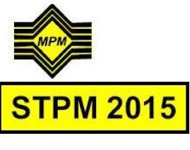 Sistem Gred Markah STPM 2015