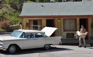Psyhco Universal Studios tour Bates Motel