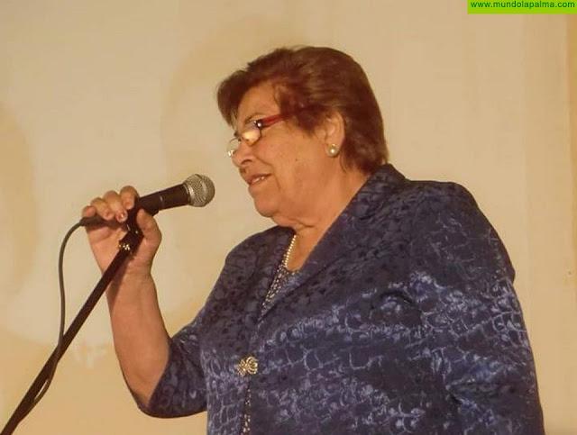 """El Ayuntamiento de Los Llanos de Aridane lamenta el fallecimiento de la versadora María Nieves Clemente Pérez, """"La Garrafona"""""""