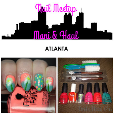 atlanta nail meetup haul
