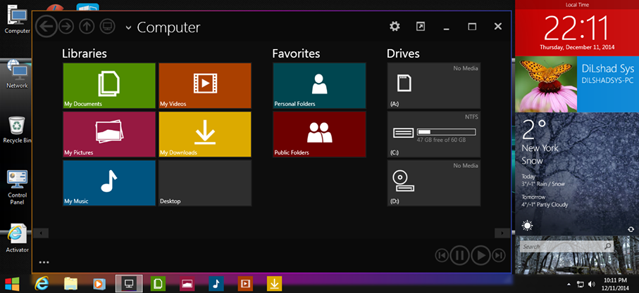 ���� ������ ������� �������� Windows 9 ULTIMATE 2016 X32