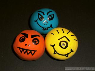 DIY Monster Balls 06      wesens-art.blogspot.com