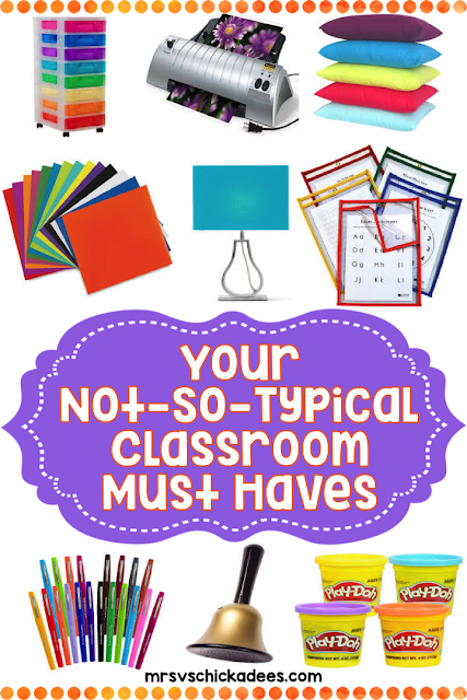 Must have classroom supplies to get your routines going, classroom organized, and create a warm and inviting classroom environment