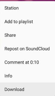 Cara Direct Download Lagu dari SoundCloud dengan Mudah - Download Songs From Sound Cloud App3