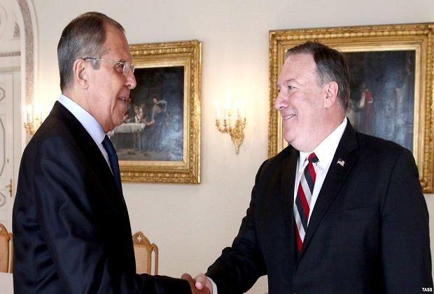 Lavrov, tras reunirse con Pompeo: Nos oponemos a una intervención militar en Venezuela