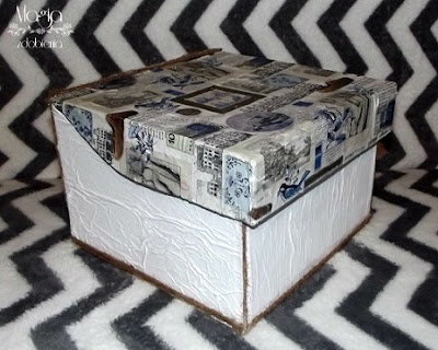 127. Metamorfoza tekturowego pudełka