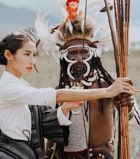 Tradisi festival lembah Baliem Papua