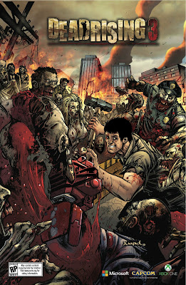Dead Rising 3, il poster del Comic-Con (by Jheremy Raapack)