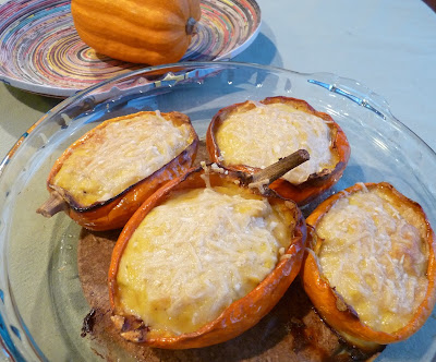 Cheesy Double-Baked Acorn Squash