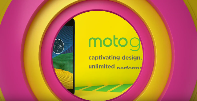 Watch Moto G5 Sapphire Blue Official Product Video Trailer