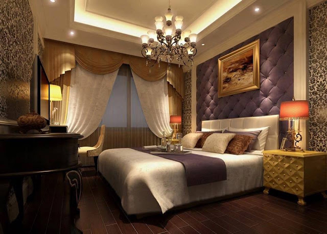 Relaxing Dark Bedroom Designs 2016