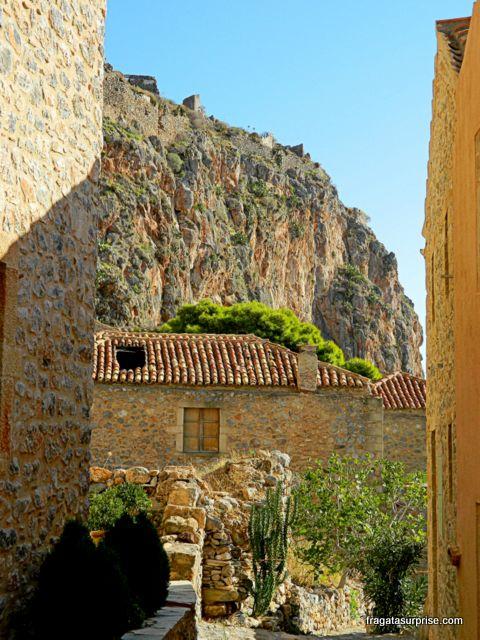 Castelo de Monemvasia, Grécia