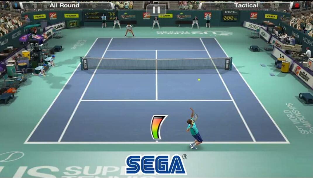 Virtua Tennis Challenge v1.0.8 Mod Apk + OBB Data