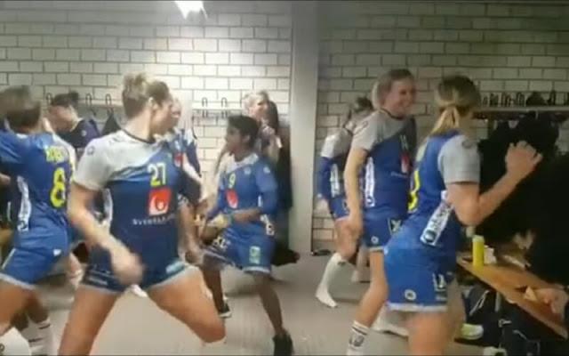 baile-jugadoras-handball-suecia-viral