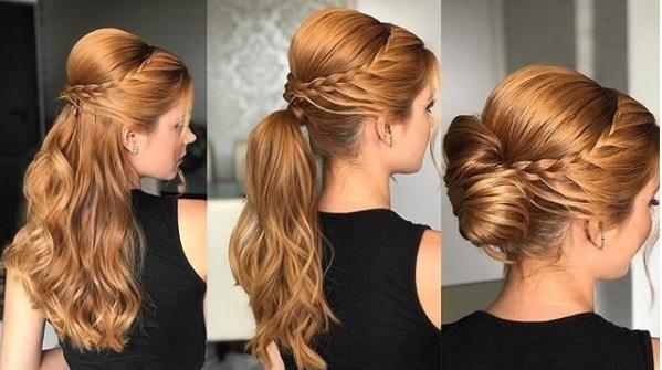 penteado de festa hairstyle