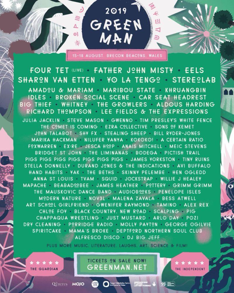 17 August 2019, Green Man Festival, Brecon Beacons, Wales - A Certain Ratio Gigography