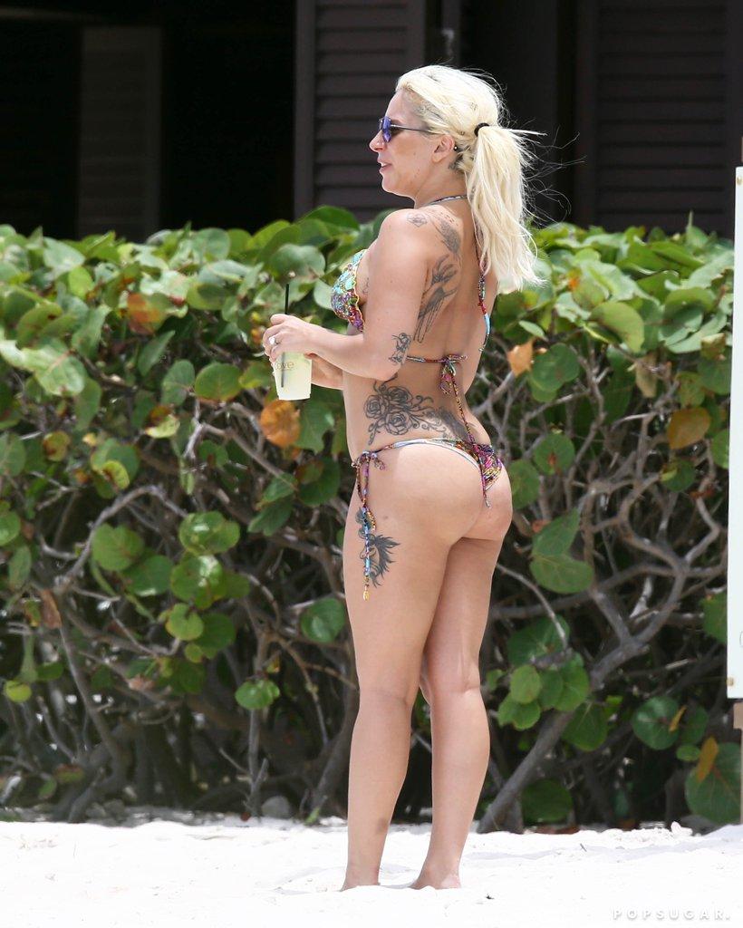 Lady Gaga Bikini Picture , Thigh Images in HD