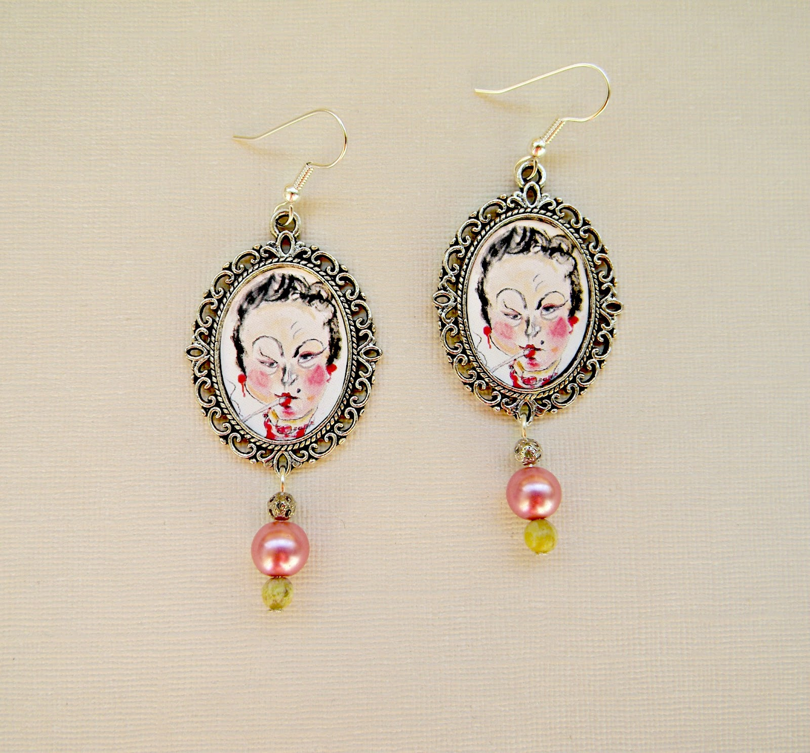 """Lautrec"" Earrings"