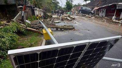 Tsunami Letusan Anak Krakatau Di Selat Sunda Korbankan Lebih 222 Nyawa