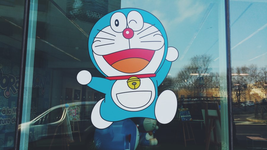 DORAEMON à la Maison de la Culture du Japon à Paris