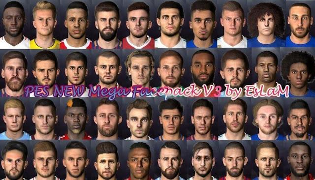 New Mega Facepack PES 2017