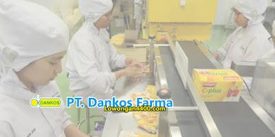 Lowongan Kerja Jakarta Bulan Desember 2020 PT. Dankos Farma
