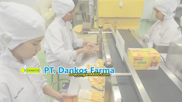 Lowongan Kerja Jakarta Bulan Juli 2020 PT. Dankos Farma