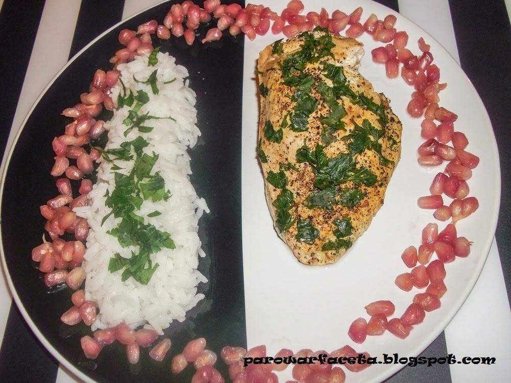 filet z piersi z kurczaka z parowaru