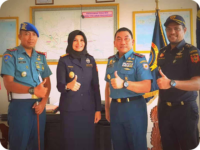 Bea Cukai Maluku Sinergi dengan Lantamal IX Ambon
