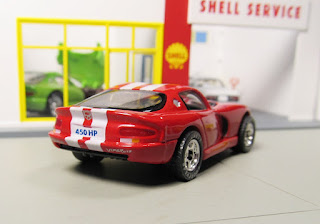 Matchbox real riders Dodge Viper GTS