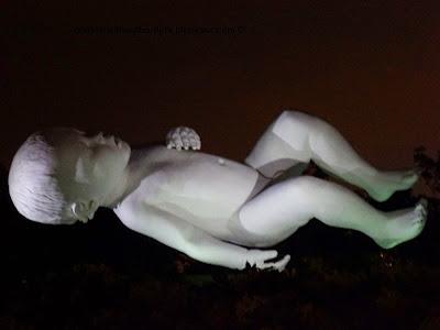 Planet sculpture by Marc Quinn