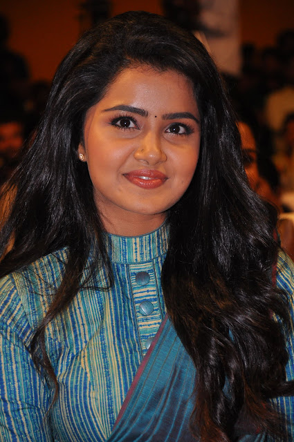Anupama Parameswaran Pics at Shatamanam Bhavati Movie Audio